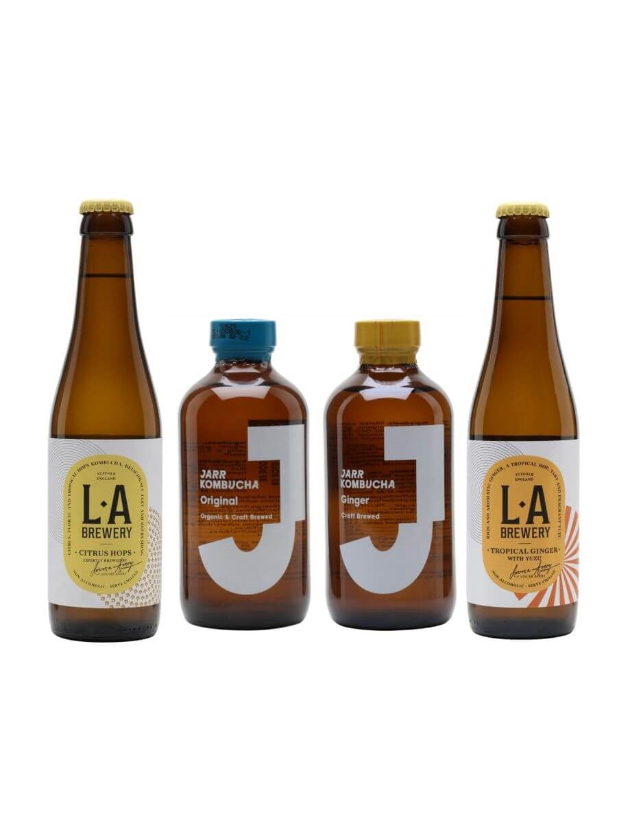 Fruity Kombucha Selection Pack / 5 Bottles