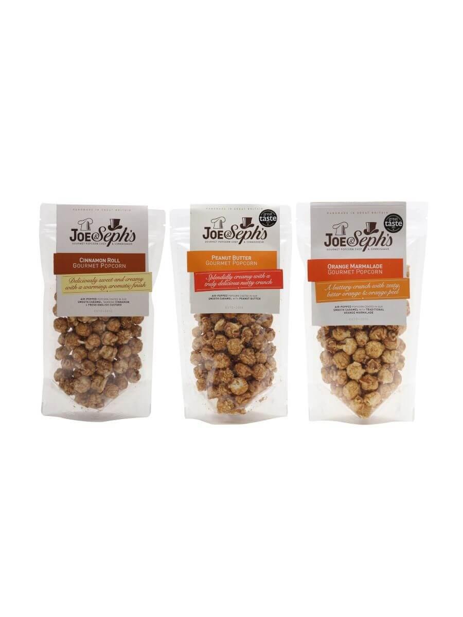 Joe & Seph's Sweet Popcorn Trio / 3x80g