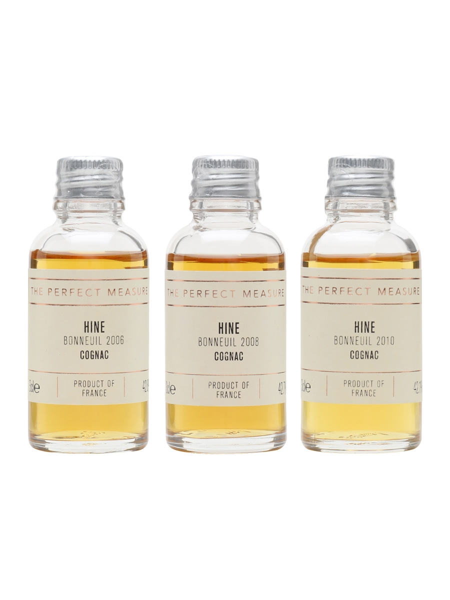 Hine: Cultivating the Difference Tasting Collection / Cognac Show 2021 / 3x3cl