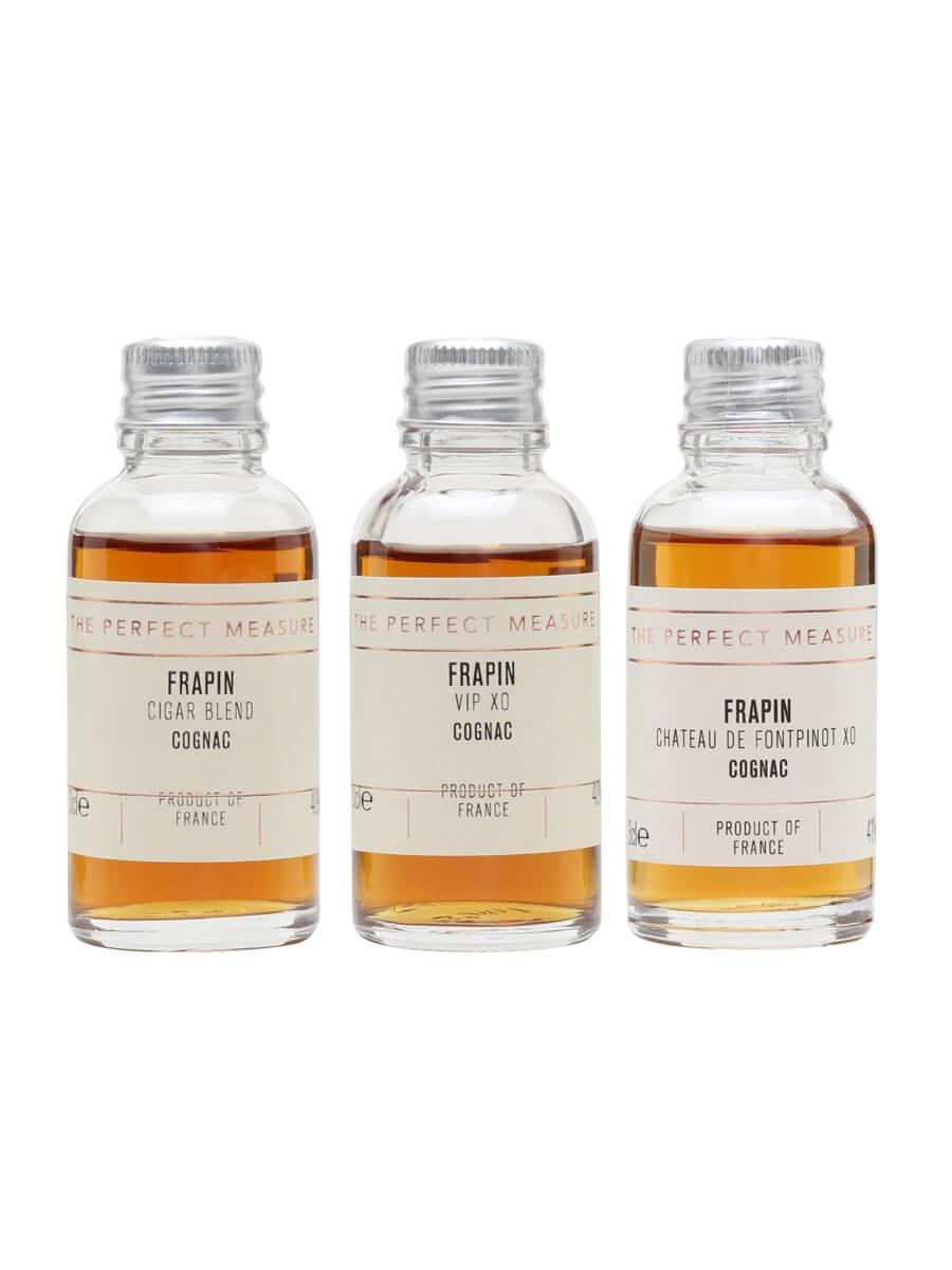 Frapin Cognac Tasting Collection / Cognac Show 2021 / 3x3cl
