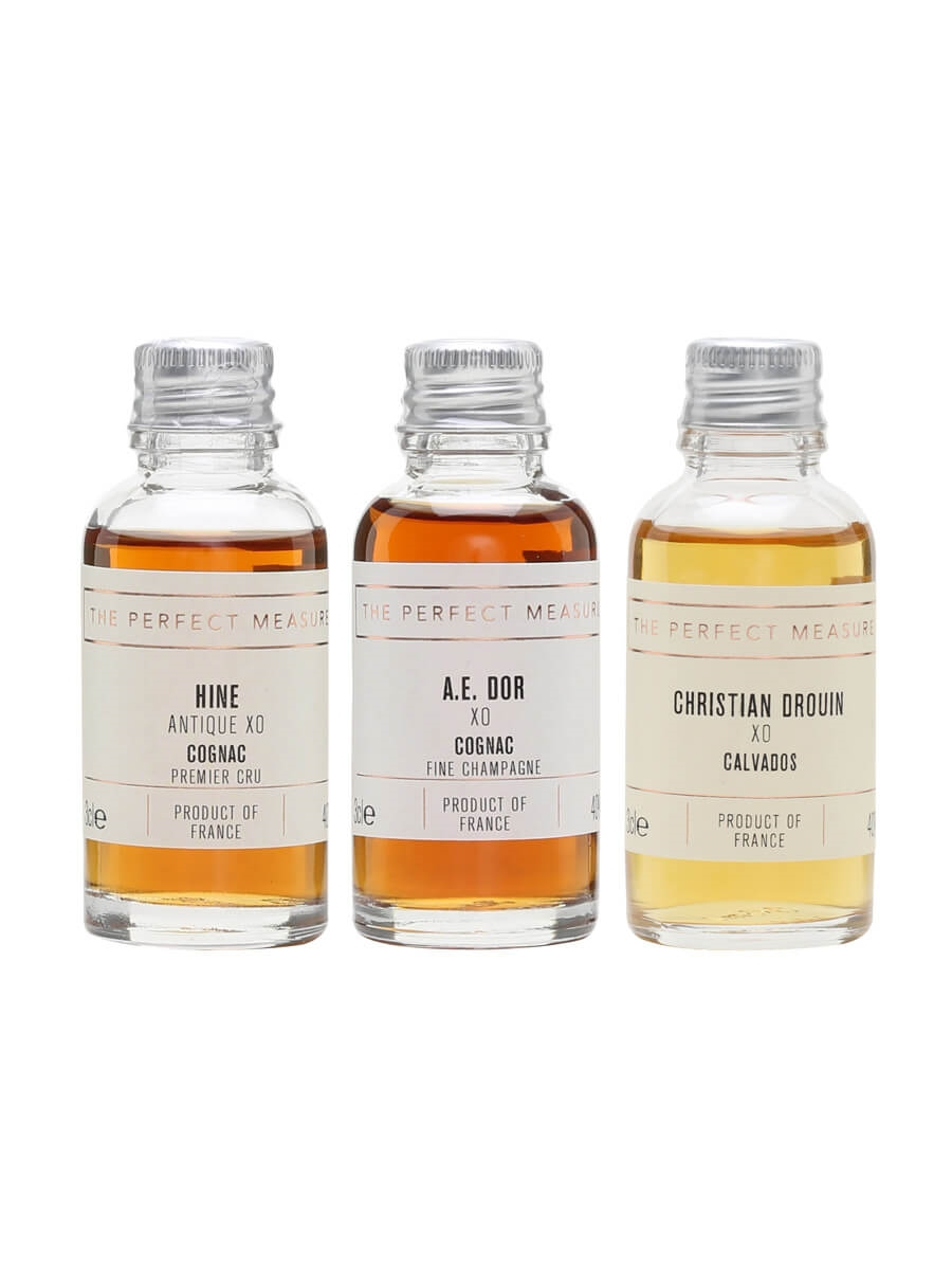 XO Tasting with Hine, Drouin and AE Dor / Cognac Show 2021 / 3x3cl