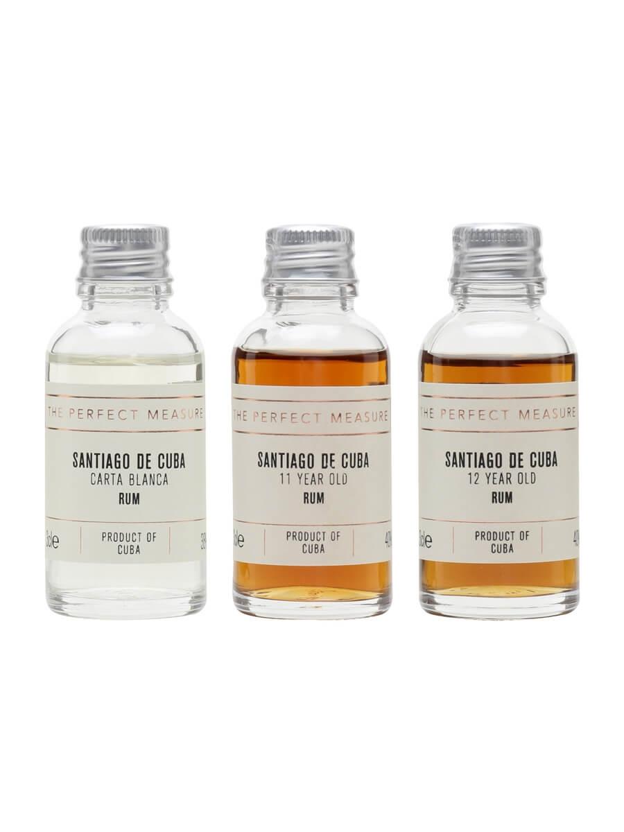 Ron Santiago de Cuba Tasting Set / Rum Show 2021 / 3x3cl