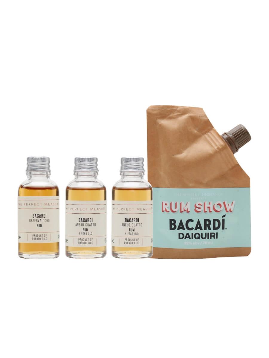 Bacardi Tasting Set / Rum Show 2021 / 3x3cl + 1x7cl