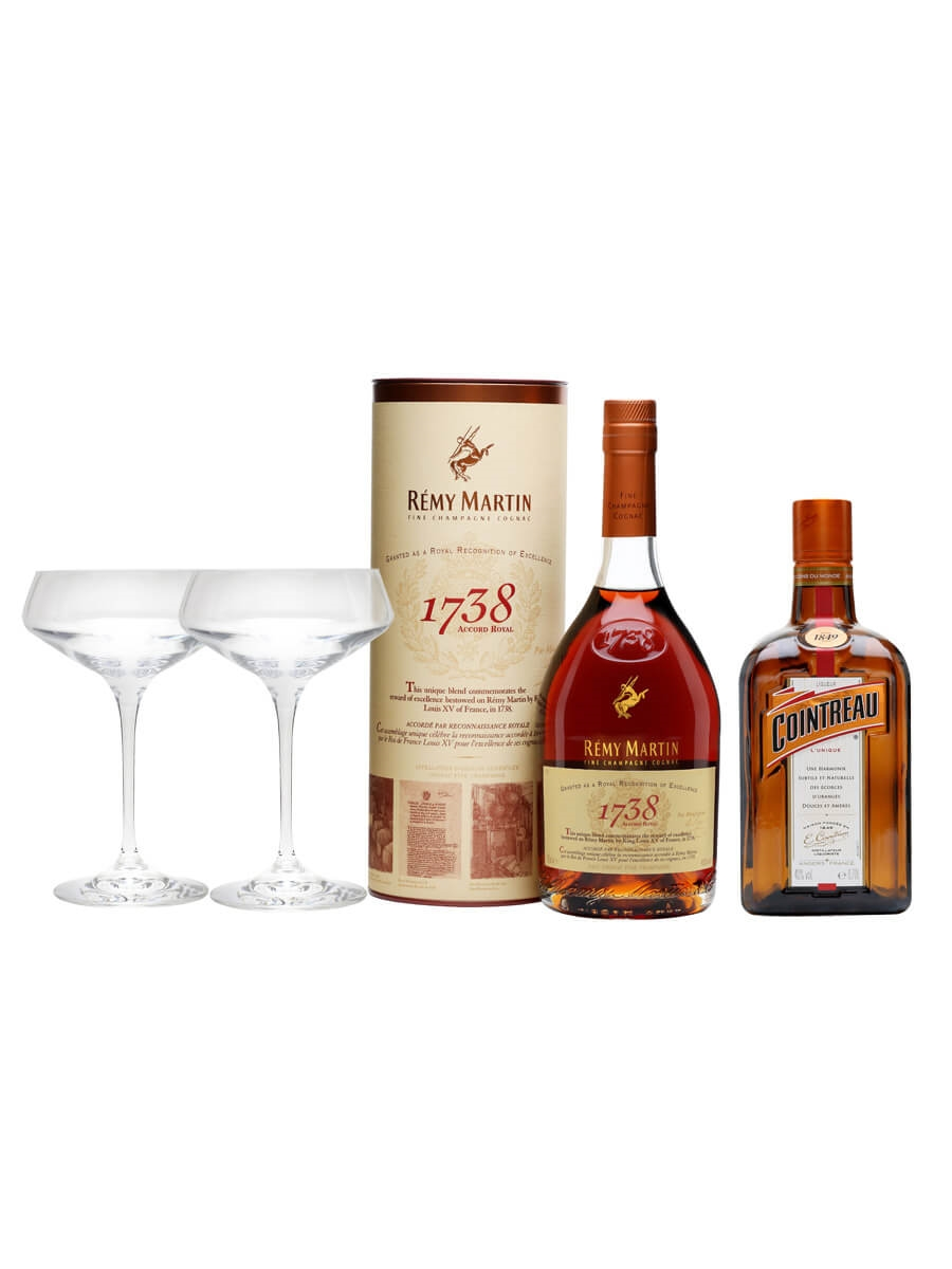 Remy Martin Sidecar Cocktail Kit / 2x70cl