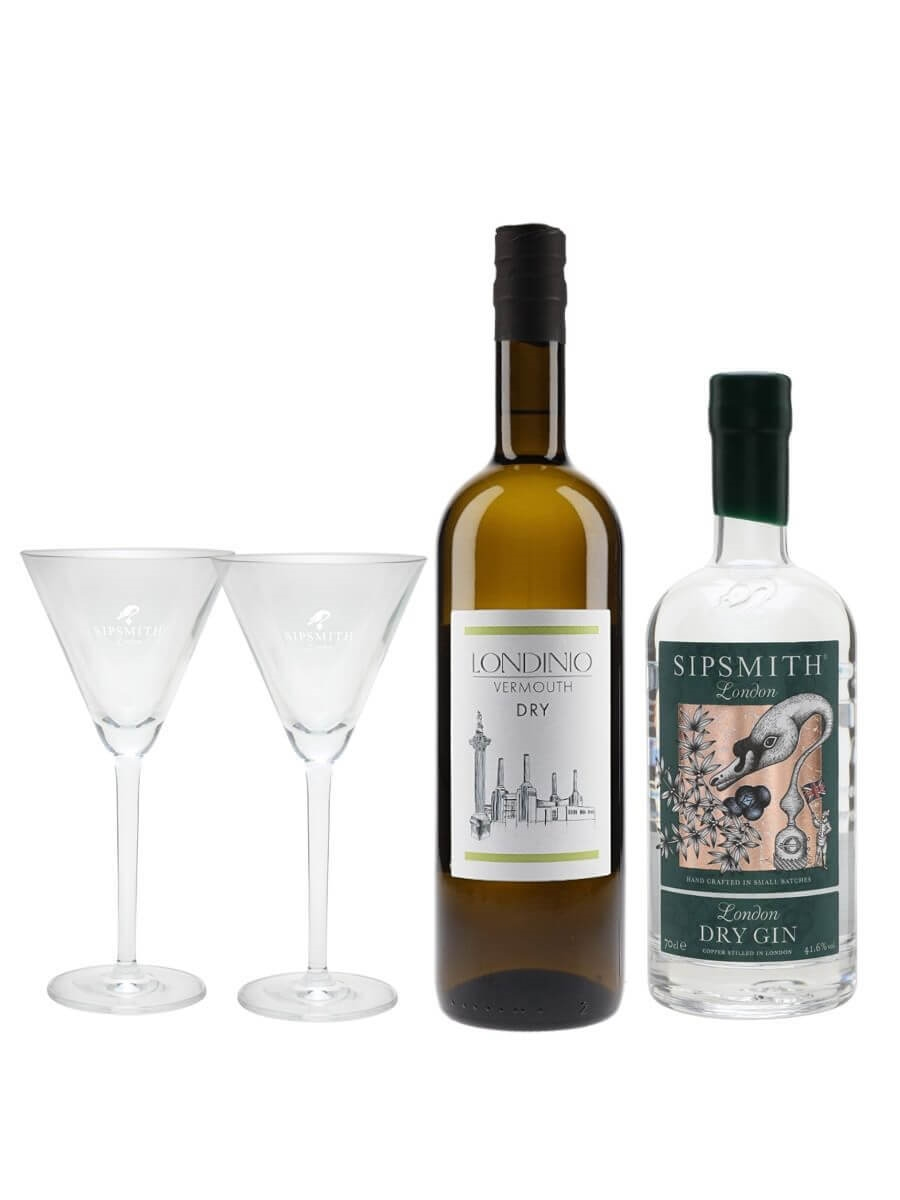 Sipsmith Martini Collection
