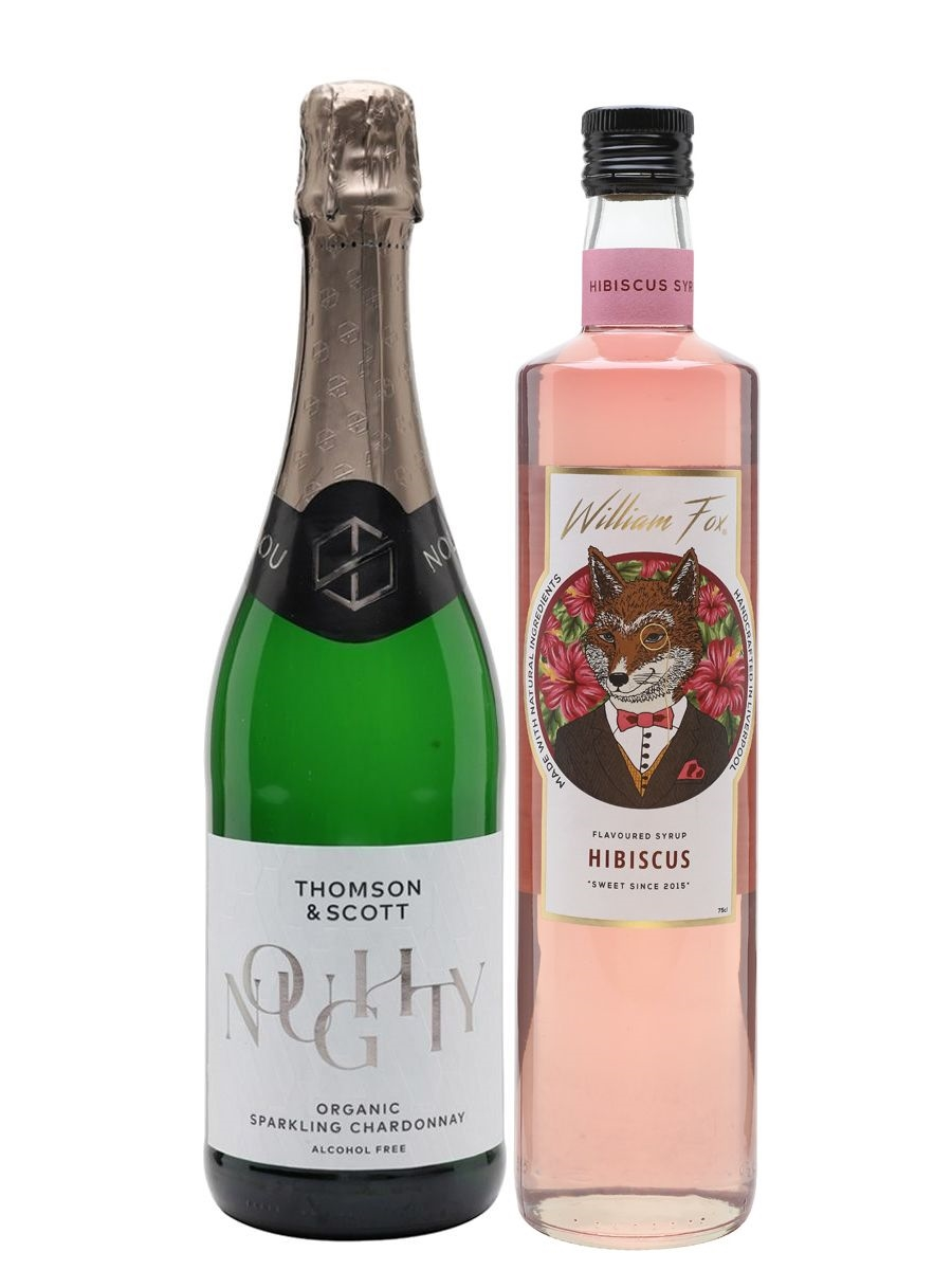 Alcohol-Free Hibiscus Spritz Collection
