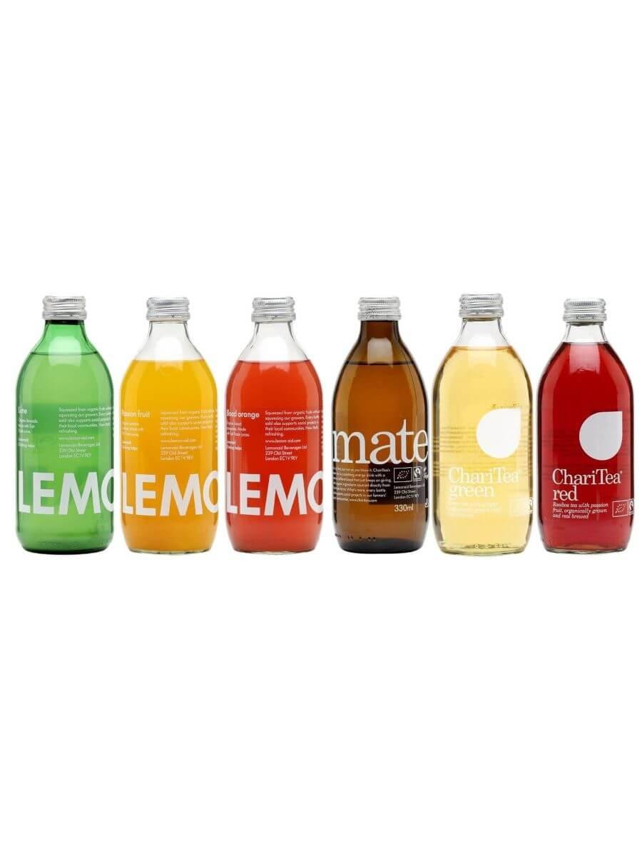 ChariTea Organic Soft Drink Collection / 3 Bottles