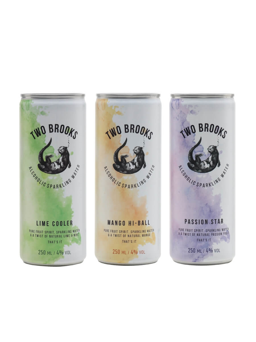Two Brooks Hard Seltzer Collection / 3 Cans