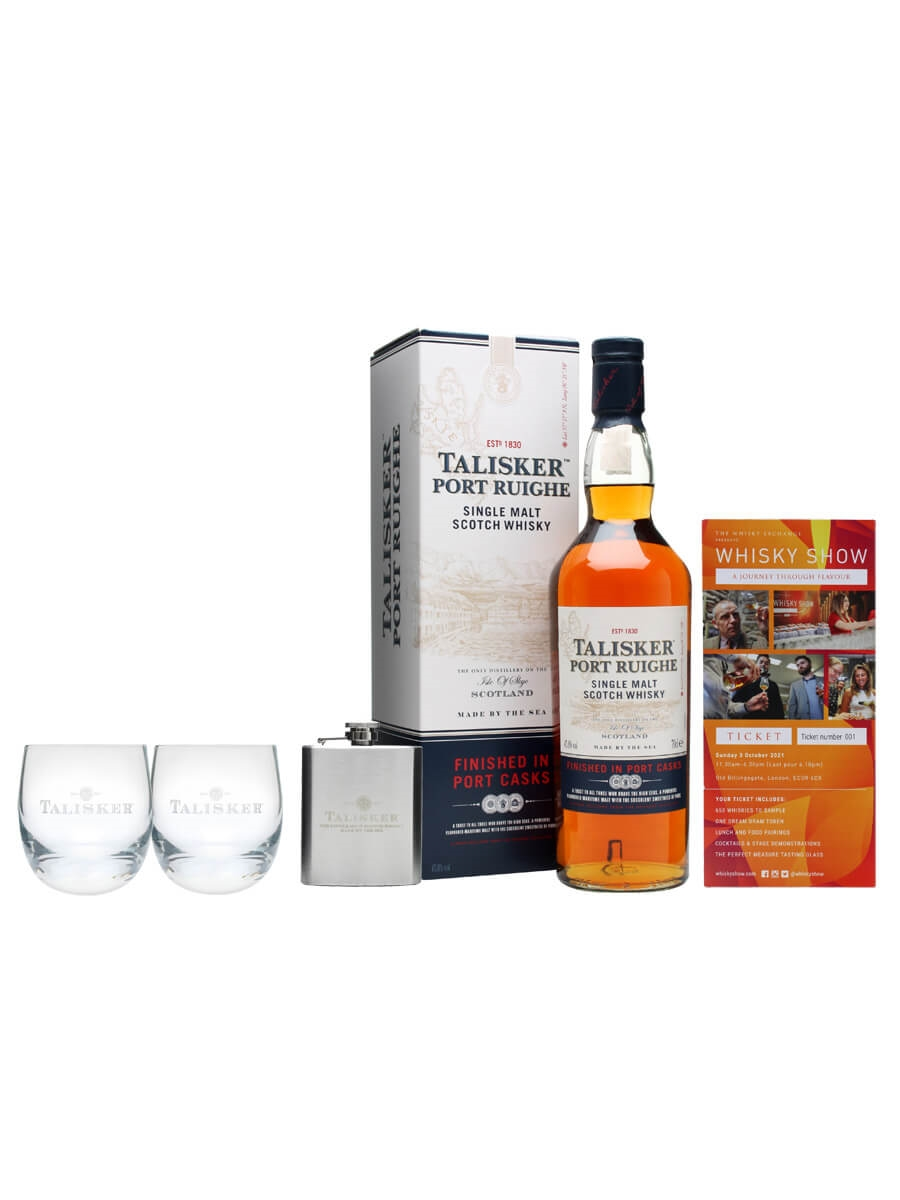 Talisker Port Ruighe Whisky Show Package / 1 Ticket