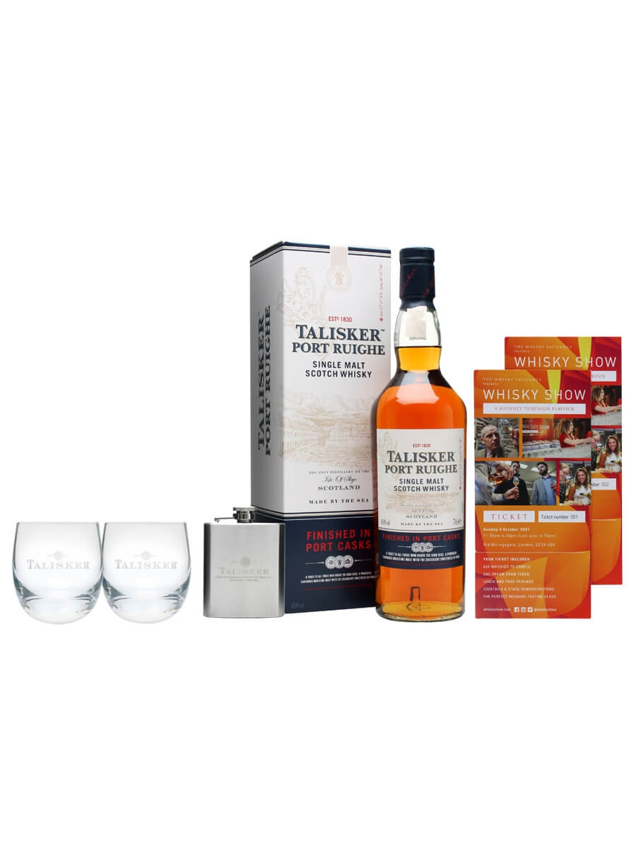 Talisker Port Ruighe Whisky Show Package / 2 Tickets