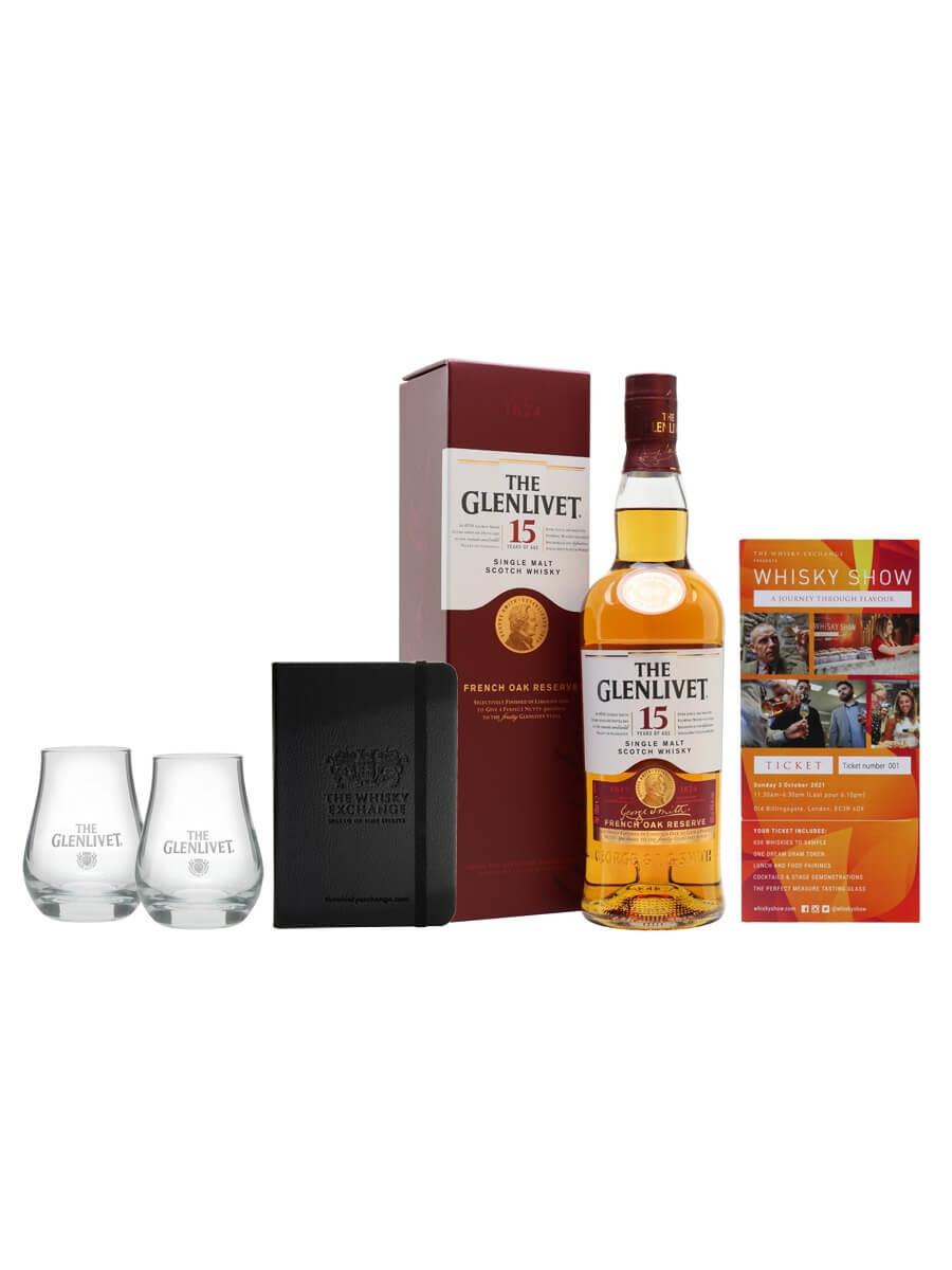 Glenlivet 15 Year Old Whisky Show Package / 1 Ticket