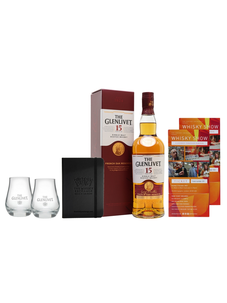 Glenlivet 15 Year Old Whisky Show Package / 2 Tickets