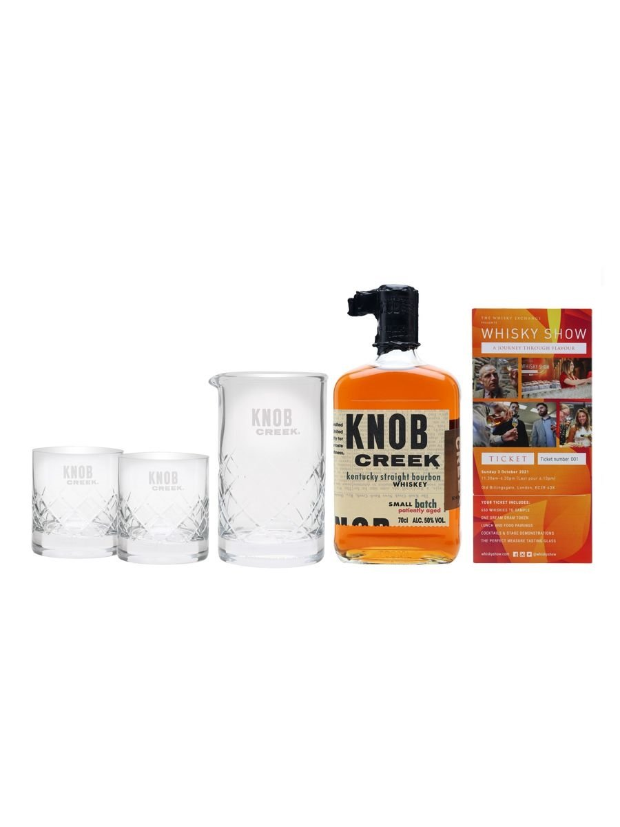 Knob Creek Whisky Show Package / 1 Ticket
