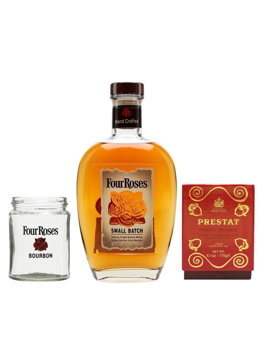 Four Roses Bourbon and Chocolates Bundle