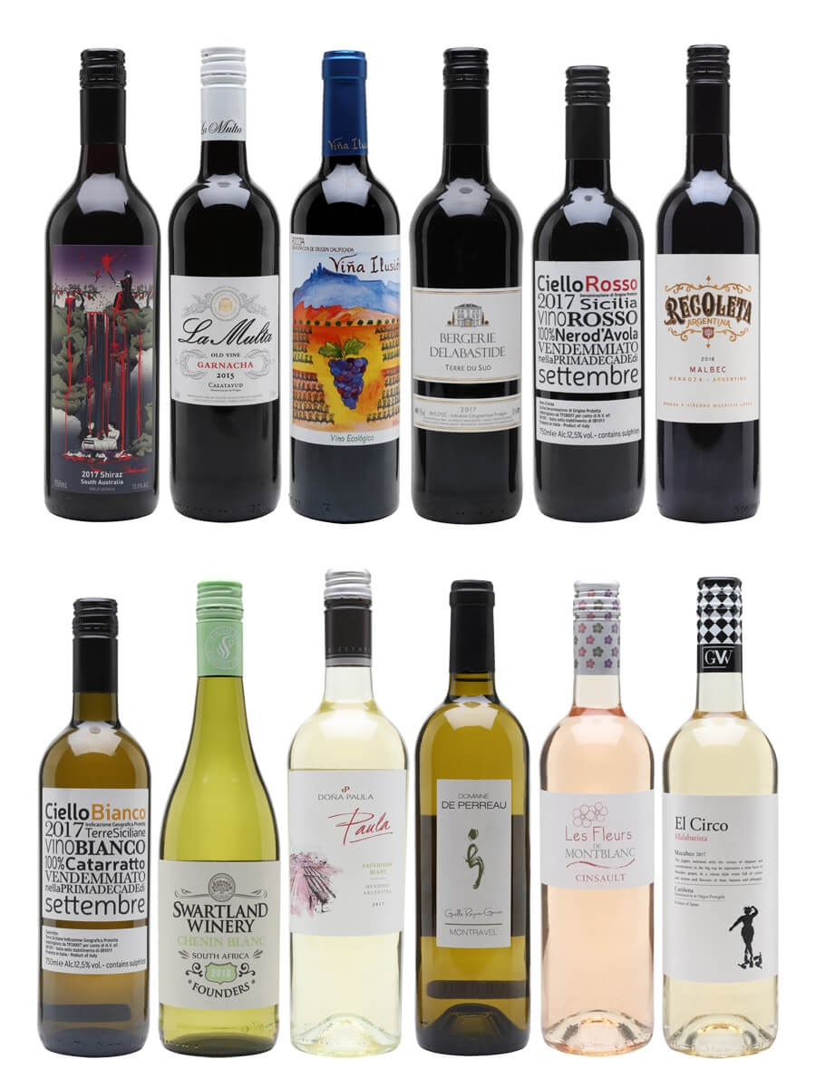 Value Wine Case / 12 Bottles