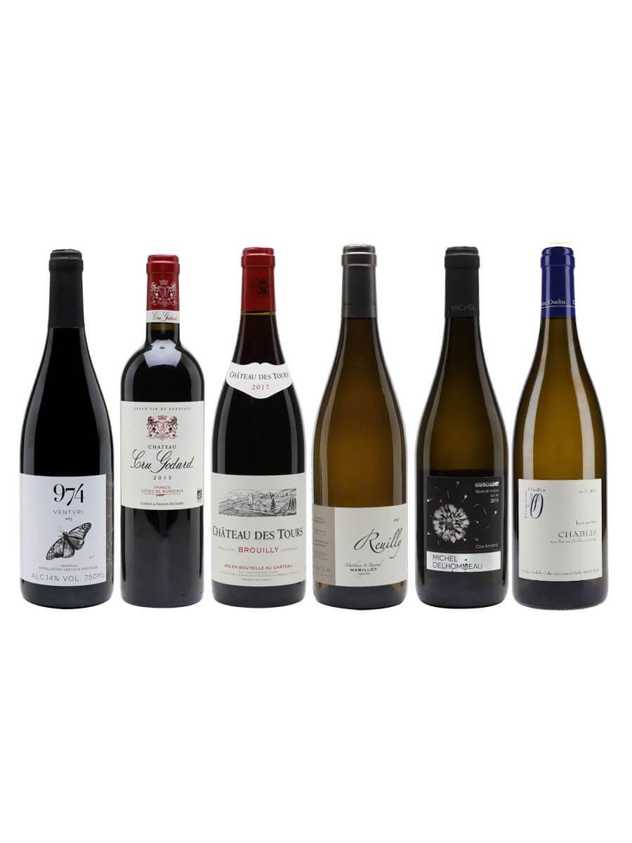 Classic France Wine Case / 6 Bottles