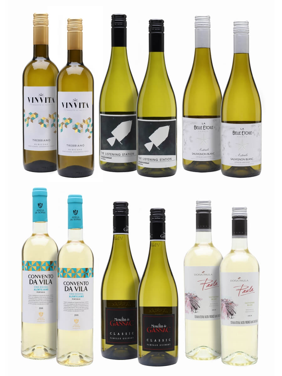 It'll be All White On The Night Wine Case / 12 Bottles