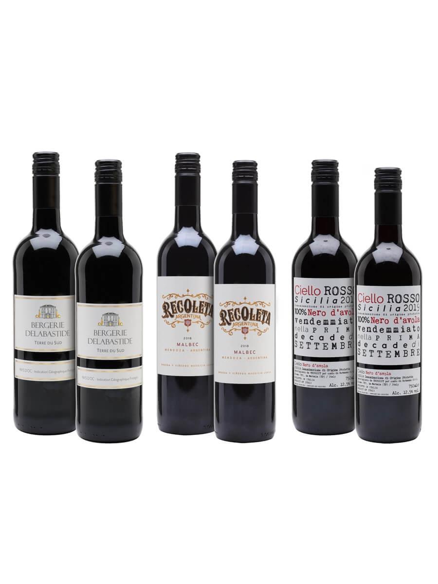 Big BBQ Wine Case / 6 Bottles