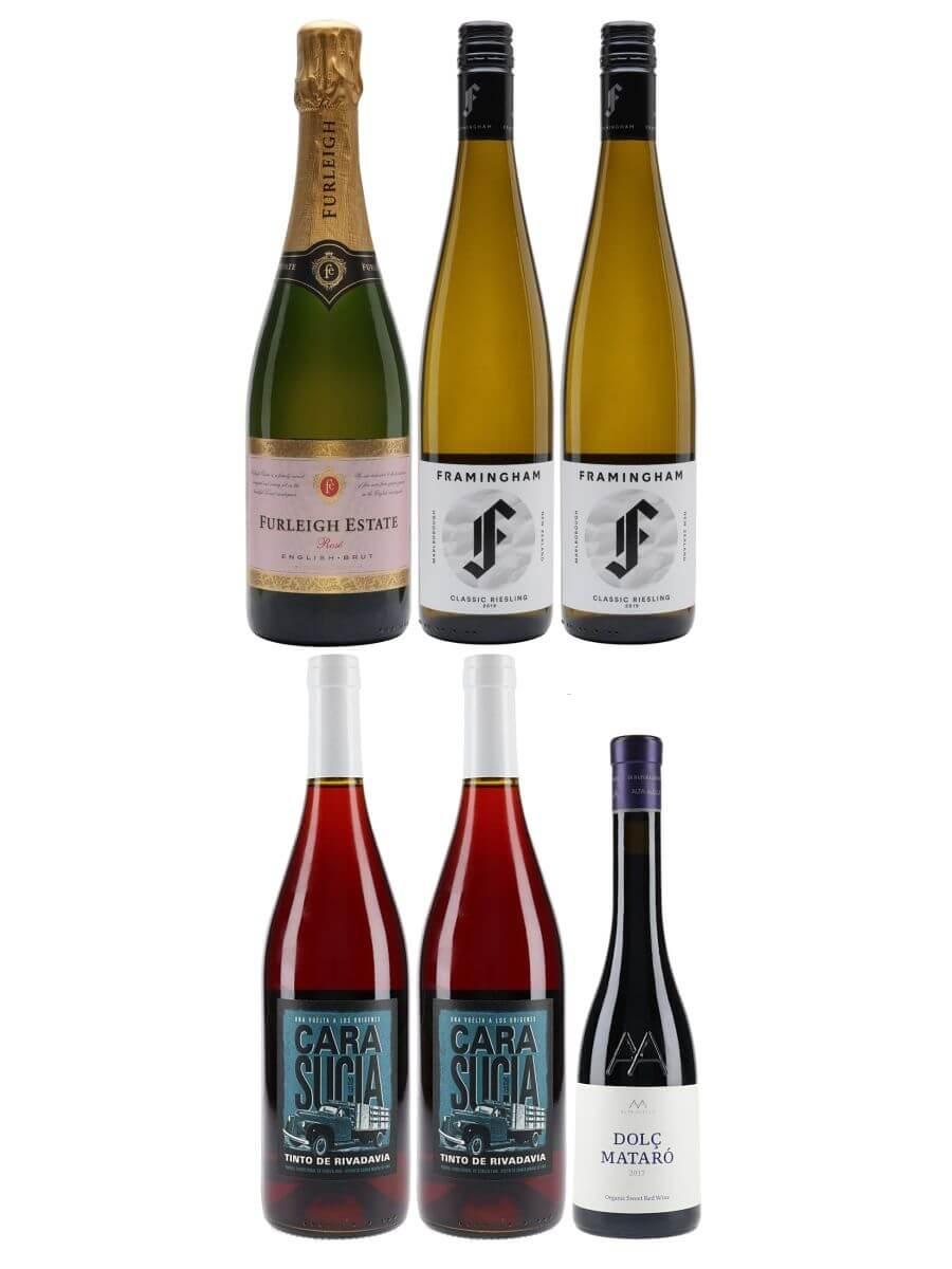 Alternative Dinner Table Wine Case / 6 Bottles