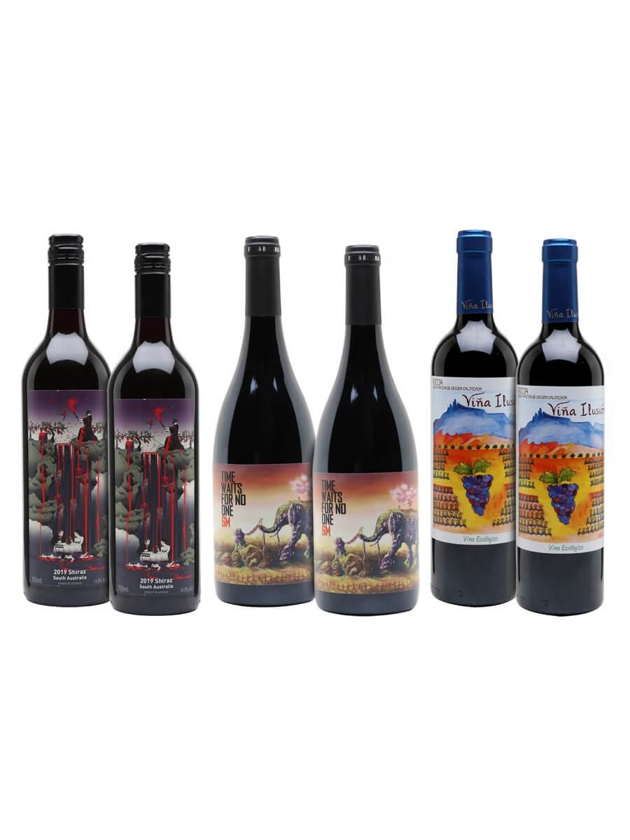 Easy Drinking Reds Wine Case / 6 Bottles