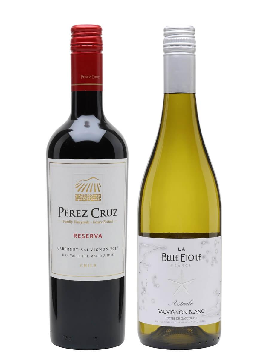 Two Colours Of Sauvignon Wine Duo