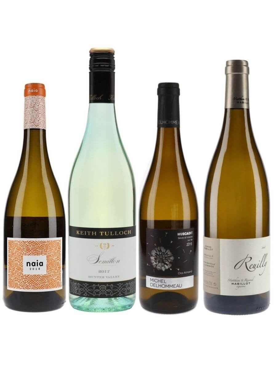 Light and Fresh White Wines Collection / 4 Bottles