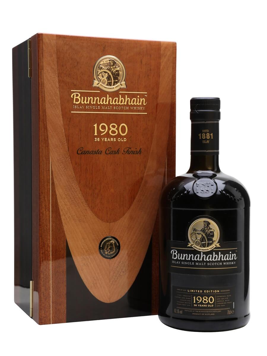 Bunnahabhain Canasta 1980 / 36 Year Old