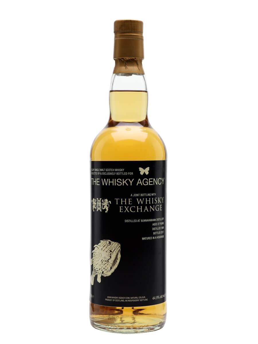 Bunnahabhain 1989 / 27 Year Old / Whisky Agency / TWE