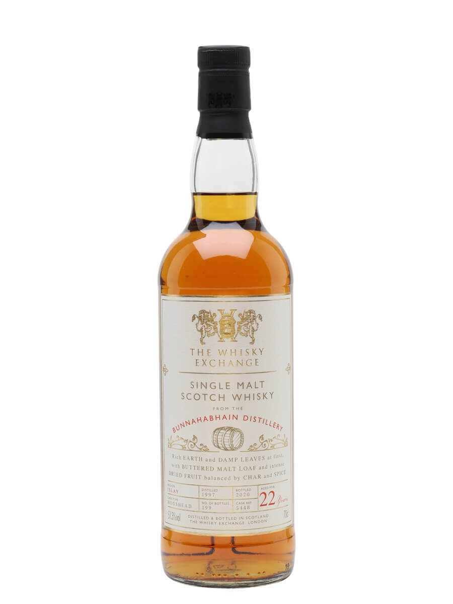 Bunnahabhain 1997 / 22 Year Old / The Whisky Exchange