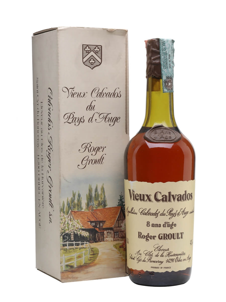 Roger Groult Calvados 8 Year Old / Bot.1980s