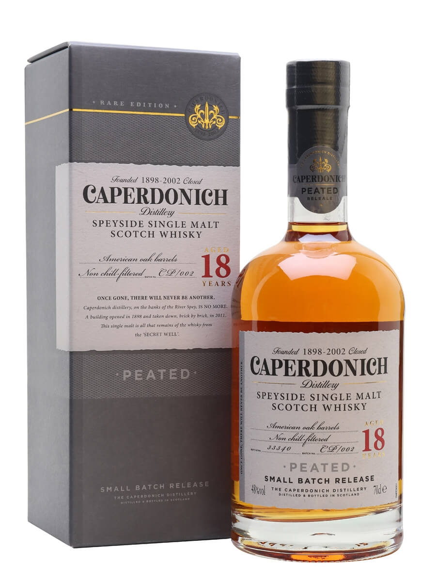 Caperdonich 18 Year Old Peated / Secret Speyside
