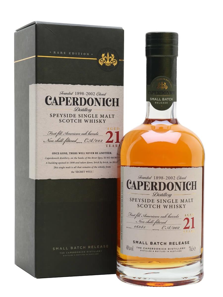 Caperdonich 21 Year Old / Secret Speyside