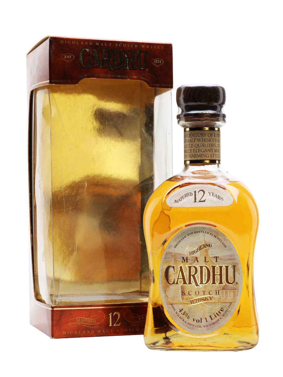 Cardhu 12 Year Old / Bot.1980s / Litre