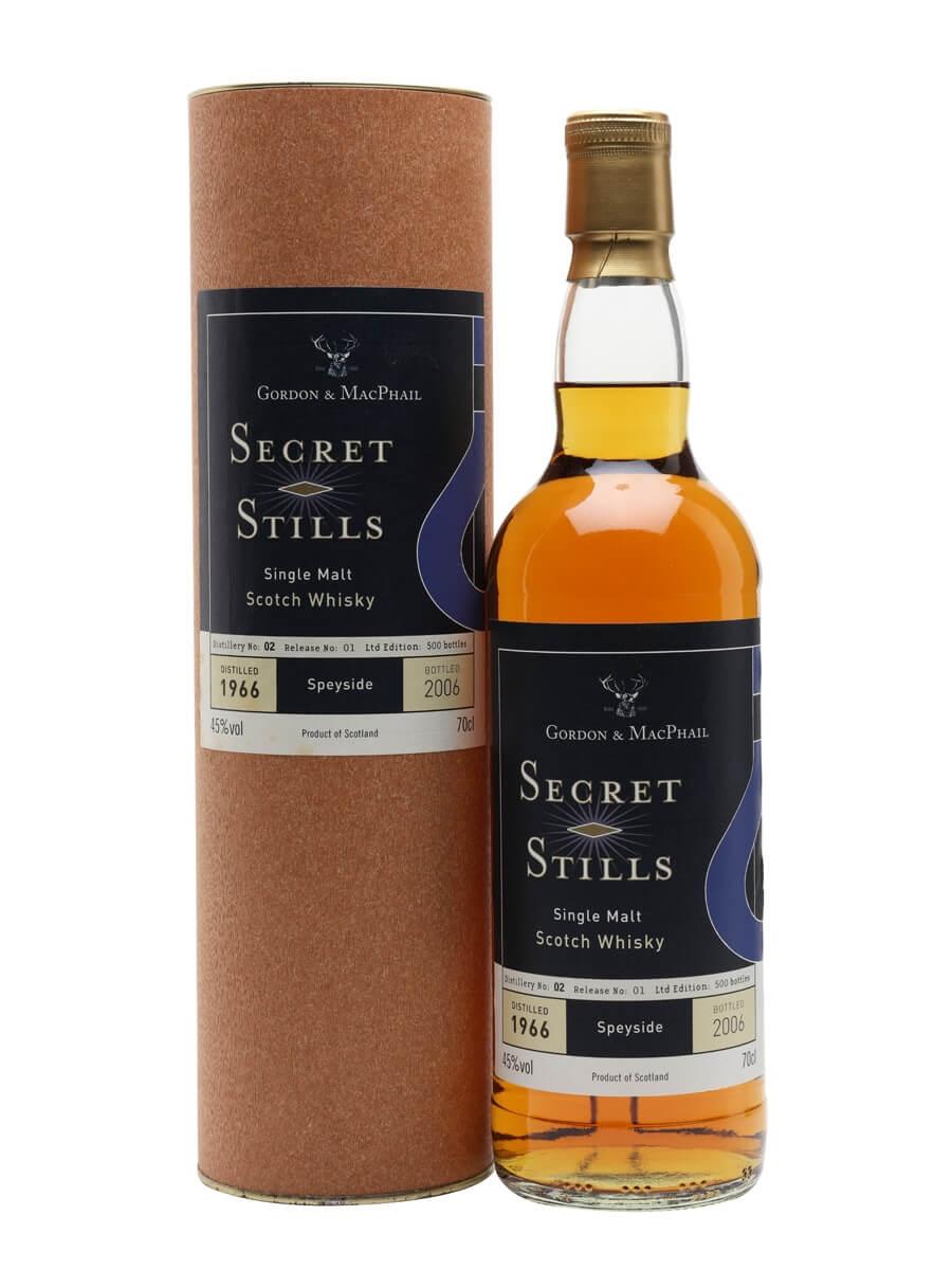 Secret Stills No: 2.1 (Cragganmore) 1966 / Sherry Cask / Gordon & MacPhail