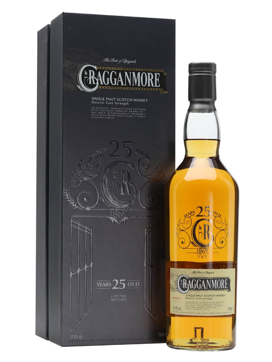 Cragganmore 25 Year Old / Special Releases 2014