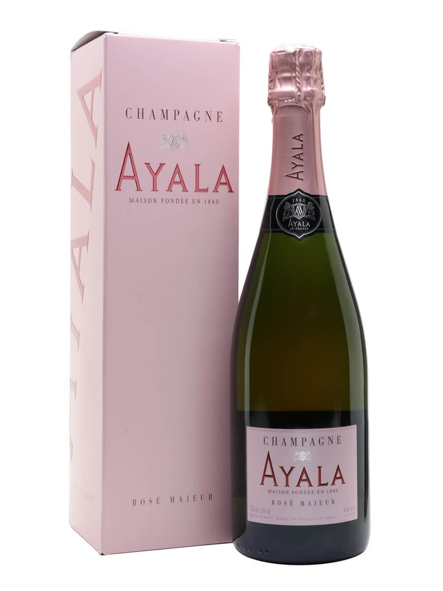 Ayala Rose Majeur Champagne / Gift Box