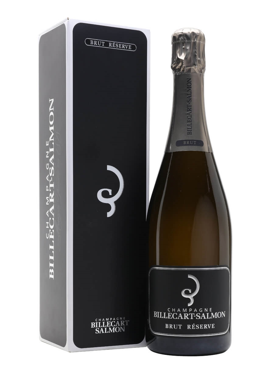 Champagne billecart-salmon brut nv gift boxed wedding