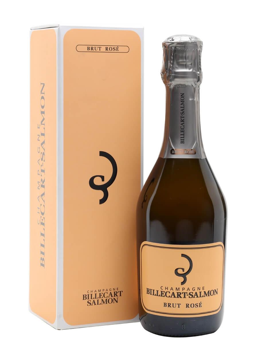 Billecart-Salmon Brut Rose Champagne / Half Bottle