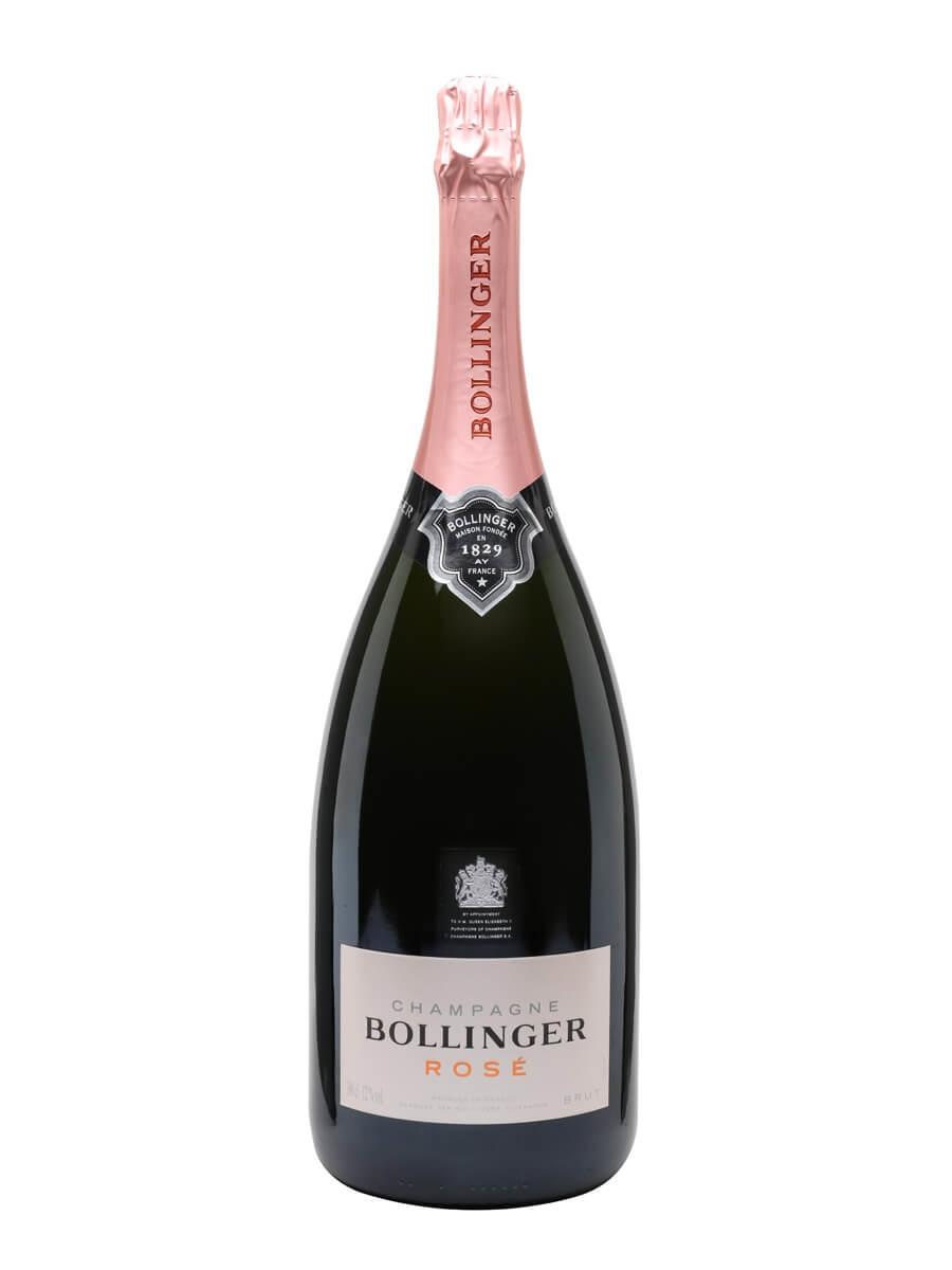 Bollinger Rose NV Champagne / Jeroboam
