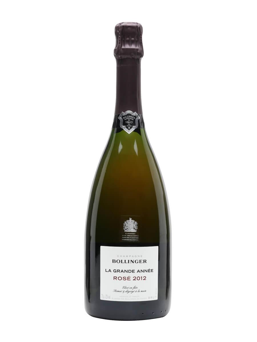 Bollinger La Grande Annee Rose Champagne 2012