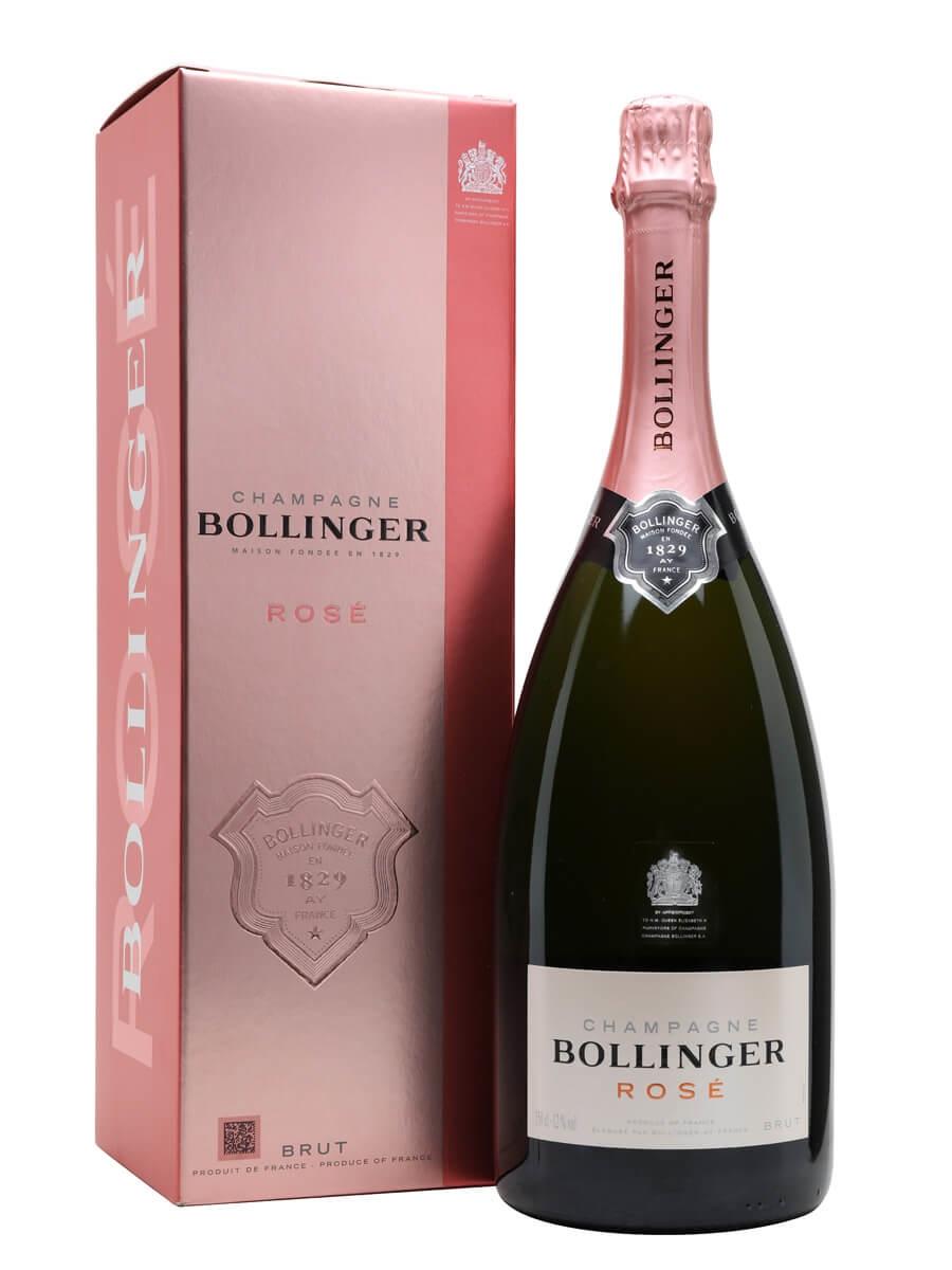 Bollinger Rose NV Champagne / Gift Box / Magnum