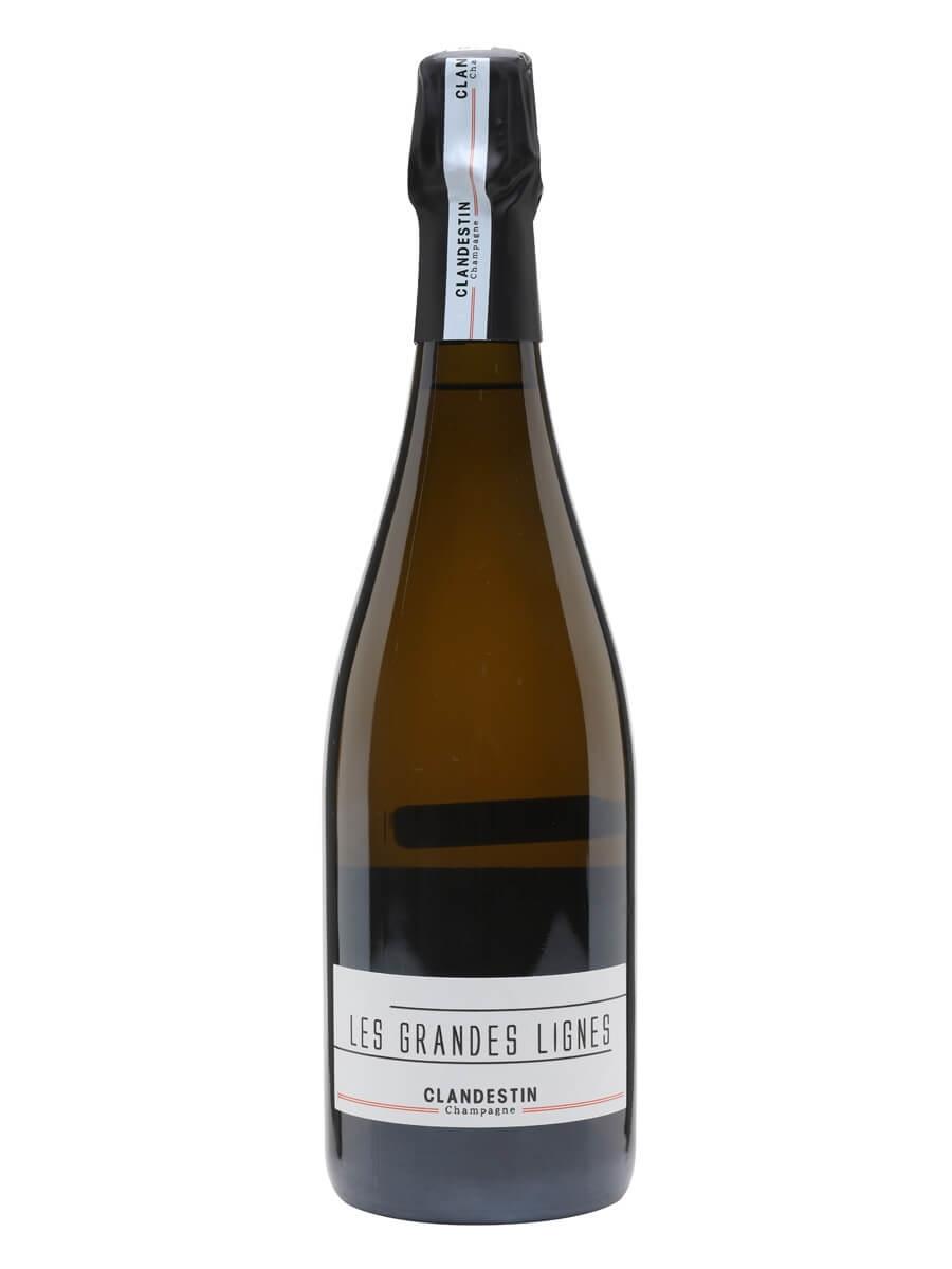 Clandestin Les Grandes Lignes 2016 Champagne / Brut Nature