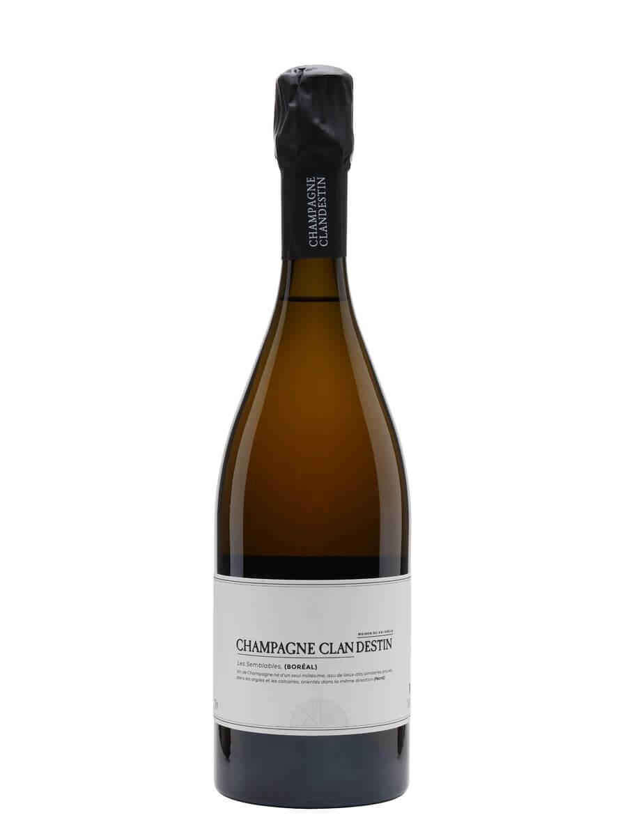 Clandestin Les Semblables Boreal 2017 Champagne / Brut Nature