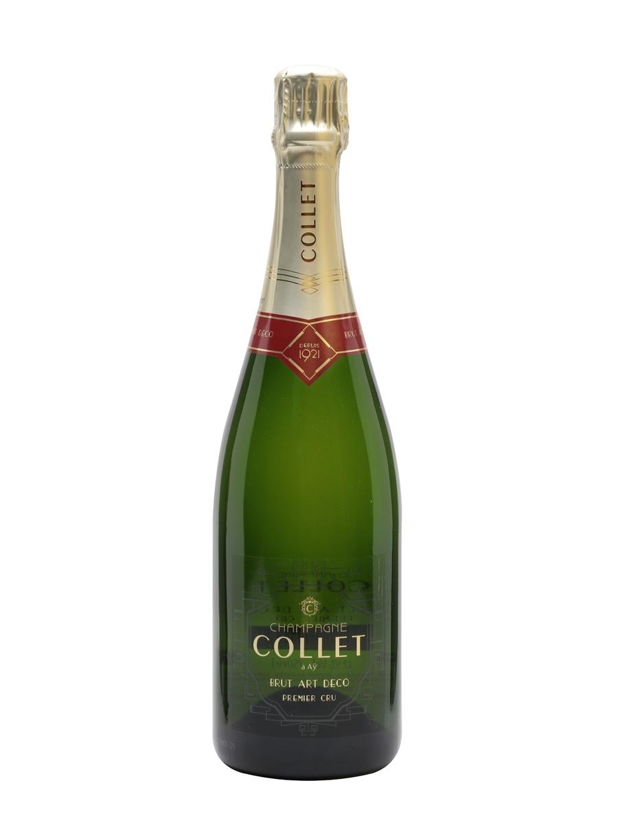 Collet Brut 1er Cru Art Déco NV Champagne