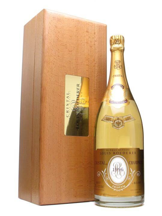 louis roederer cristal 1996 champagne magnum the whisky exchange. Black Bedroom Furniture Sets. Home Design Ideas