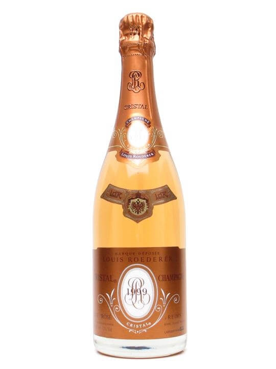 louis roederer cristal rose 1999 champagne the whisky exchange. Black Bedroom Furniture Sets. Home Design Ideas