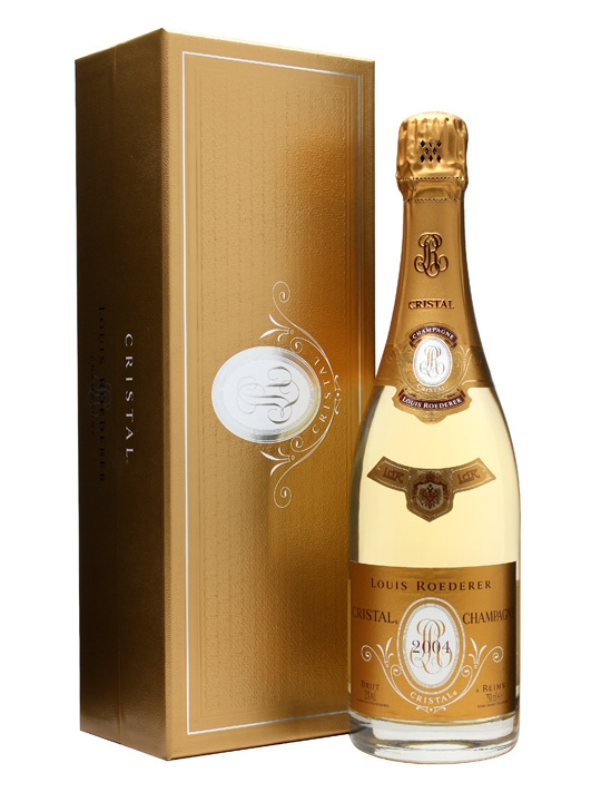 louis roederer cristal 2004 champagne the whisky exchange. Black Bedroom Furniture Sets. Home Design Ideas