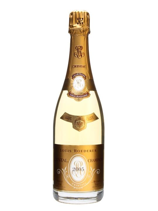 louis roederer cristal 2005 champagne the whisky exchange. Black Bedroom Furniture Sets. Home Design Ideas