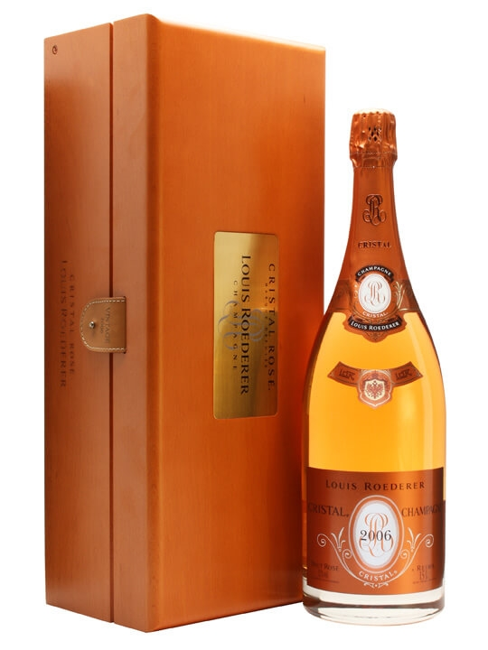 louis roederer cristal rose 2006 champagne magnum the whisky exchange. Black Bedroom Furniture Sets. Home Design Ideas