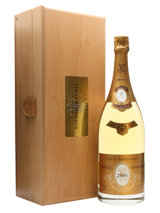louis roederer cristal brut 2006 champagne magnum the whisky exchange. Black Bedroom Furniture Sets. Home Design Ideas